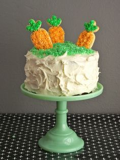 Carrot Patch Cake for Spring // Oleander+Palm