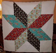 One Large Star Quilt