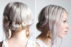 20 Pretty Messy Hair Hacks via Brit   Co
