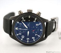 IWC Pilot's Chronograph TOP GUN Automatic Mens Watch iw389001  #IWC #LuxuryDressStyles