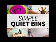 54 Amazing and simple ideas for quiet time activities for 3 year olds. Extend nap time a little longer with these quiet activities - and they are mess free! Quiet Time Activities, Activities For 2 Year Olds, Creative Activities For Kids, Preschool Learning Activities, Indoor Activities For Kids, Games For Toddlers, Infant Activities, Motor Activities, Busy Boxes