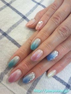 |  Spring nail | nail colorful gradient #nailcolour