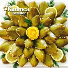 Mussels Artichoke Stuff Recipe How To Make - Nutella 2019 Baby Food Recipes, Cooking Recipes, Yummy Recipes, Artichoke Recipes, Stuffing Recipes, Food Words, Turkish Recipes, Homemade Beauty Products, Mussels