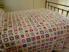 Flowers in the Snow crochet blanket with Stylecraft Special DK