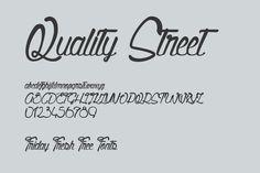 Friday Fresh Free Fonts - Quality Street, Berlin, Source Serif Pro | Abduzeedo Design Inspiration