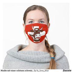 Maske mit einer schönen schweizer Kuh Carnival, Face, Swiss Guard, Cow, Nice Asses, Carnavals, Carnivals, Faces, Facial