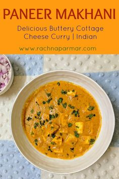 Paneer makhani or Butter Paneer is a delicious preparation that is perfect as a main course. Delightfully silken and creamy curry with chunks of melt-in-the-mouth paneer pieces works as a great dinner idea for weekend or even a weekday. This is perfect for when you are feeling indulgent. #paneermakhani #paneer #Punjabi #vegetarian #highprotein #keto