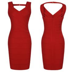 Sweet Sexy Women Naked Back Mini Bandage Cocktail Evening Party Dress Features:  Intro: Low Cut,  Consice,  Mini,Wrap,Sleeveless,  Nacked back, Halter  Color: Red Purple Material:  Polyester Package:1 x Dress (other accessories on pictures are NOTincluded.)