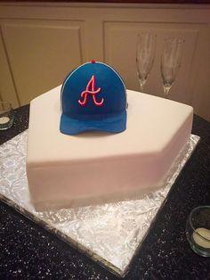 Baseball Diamond Birthday Cake