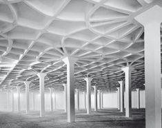 Pier Luigi Nervi/Gatti Wool Factory Floor System/Rome/Italy/1951