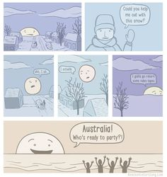 The winter sun  - funny pictures #funnypictures