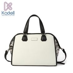 d38fccea67bd Kadell Luxury Handbags Women Bags Designer Pu Leather Bags Ladies Famous  Brands Messenger Bags White Casual Style splash-in Bag
