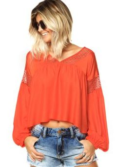 Blusa Lucy in the Sky Laranja