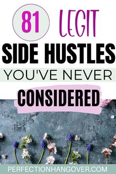 If you're working a full time job but want to earn some extra cash, there are tons of side hustles that can work for you! Click through for 81 side hustle ideas to make money on the side… Earn Money From Home, Make Money Fast, Make Money Online, Making Extra Cash, Part Time Jobs, Money Tips, Money Hacks, Work From Home Jobs, Extra Money