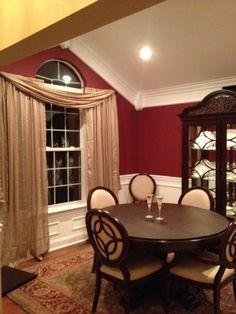 Mark Hampton Mark Hampton's New York City Dining Roomred Walls Inspiration Red Wall Dining Room Review
