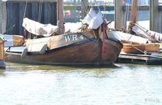Zeilboot in Den Oever