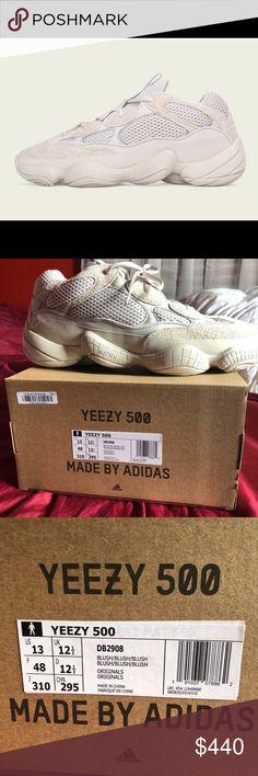 2019 Original Adidas Yeezy 500 Athletic Running Shoes Luxury Designer 700 Blush Desert Rat Runner Kanye West 500s Boost Super Moon Yellow Salt Utility