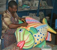 papier mache fish - Google Search