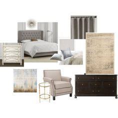 """serene master bedroom"" by lindy-kingdon on Polyvore"
