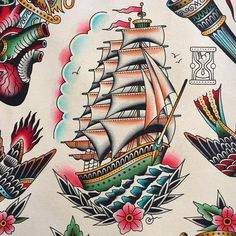 #ship #shiptattoo #tickertattoo #tickerнутые #tattoo #tattoos #tattooed #tattoolife #tattooartist #traditional #tradition #traditionaltattoo #classictattoo #topclasstattooing #besttradtattoos #thebesttattooartists #oldschool #oldschooltattoo #tattooart #colortattoo #oldlines #ink #inked #skinart #spb #spbtattoo #art #flash #tattooflash #tattoodesign