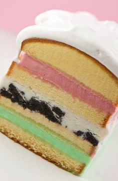 7-layer ice cream cake.