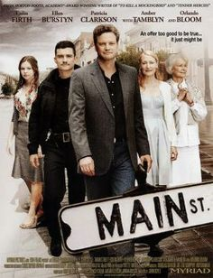 Main Street: Colin Firth with a Southern accent? Ellen Burstyn and Orlando Bloom are wonderful. Movie To Watch List, Tv Series To Watch, Good Movies To Watch, Great Movies, New Movies, Movies Online, Colin Firth, Orlando Bloom, Good Movies On Netflix