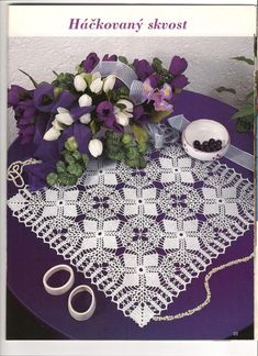 Discover amazing things and connect with passionate people. Crochet Flower Patterns, Crochet Motif, Crochet Designs, Crochet Doilies, Crochet Flowers, Knit Crochet, Crochet Home, Irish Crochet, Crochet For Kids