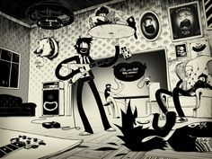 Astonishing Illustrations by Mcbess