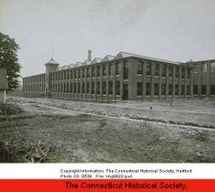 Warrenton Woolen Mill: exterior view, Torrington. :: Connecticut History Online