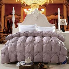 Find More Comforter Information about Goose Down filling+modal Cover Quilt Queen King Twin size Winter comforter/Blanket/Duvet Home/Hotel bedding Pillow Fast shipping,High Quality fabric wristlet,China bedding sets for children Suppliers, Cheap fabric companies from svetanya on Aliexpress.com