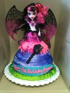 Monster High Doll Cake - Trifles