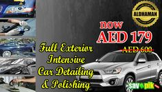 Full Exterior Intensive Car Detailing & Polishing for 179 and save upto 70% OFF.