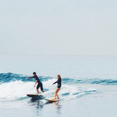 surfing with my best friend❤