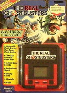 Real Ghostbusters handheld game.
