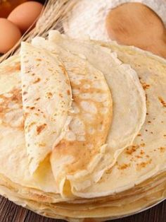 Pâte à crêpes extra - Sweet Recipes, Cake Recipes, Dessert Recipes, Thermomix Desserts, Easy Desserts, Cooking Chef, Cooking Recipes, Pancakes Easy, French Pancakes