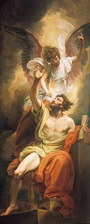 This power article is a survey of the ministry gifts, the second of which is the Prophet:  http://www.jrcministries.org/wholeness/13-the-ministry-gifts.html  (The painting is Benjamin West's conception of the Prophet Isaiah's lips being anointed by fire.)
