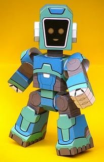 Robot Paper Toy