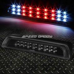 BLACK HOUSING DUAL-ROW LED 3RD THIRD BRAKE+CARGO LIGHT FOR 07-16 TOYOTA TUNDRA  BLACK HOUSING DUAL-ROW LED 3RD THIRD BRAKE+CARGO LIGHT FOR 07-16 TOYOTA TUNDRA 2010 Toyota Tundra, Lamp Light, The Row, Third, Led, Cars, Black, Awesome, Ideas
