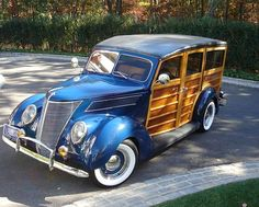 1938 Ford Special Deluxe Station Wagon