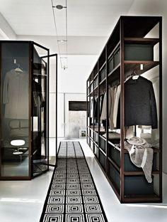 Begehbarer kleiderschrank design  Ankleidezimmer Einrichtung, Ideen, Inspiration und Bilder ...
