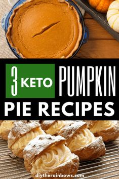 Gluten-free will become so easy with 3 keto pumpkin pie recipes here. Don't waste your time in order to search for other recipes. Trust us, these will your favorite ketogenic recipes. #keto #ketogenic #ketogenicdiet #pumpkinpie #ketorecipes