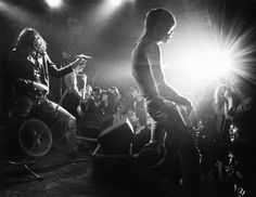 The Ramones at CBGB in New York, 1979. Photographed by Bob Gruen.