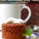 Weight Watchers 321 Microwave Mug Cake Recipe