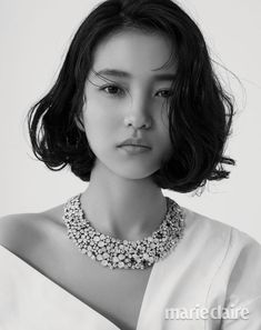 """Kim Tae-ri for Marie Claire, November "" Korean Actresses, Actors & Actresses, Korean Beauty, Asian Beauty, Marie Claire, Fashion Poses, Short Bob Hairstyles, Haircuts, Pretty Woman"