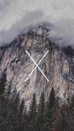 #iPhone Wallpaper #Apple #Yosemite Wallpaper