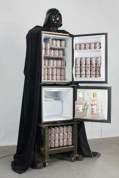 DartVader party refrigerator