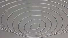 Circuconcéntricos Aluminio (2012). Aluminium. 100 cm diameter. © Elias Crespin