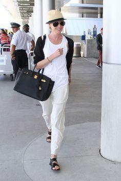 Portia de Rossi Photos: Portia de Rossi Leaves LA