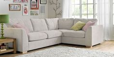 Stylish, practical and contemporary, a corner sofa can be the best starting point while decorating your livingroom. You can add two armchairs and an Best Corner Sofa, Corner Sofa Design, Sofa Styling, Fabric Sofa, Modern Sofa, Family Room, Furniture Design, Lounge, House Design