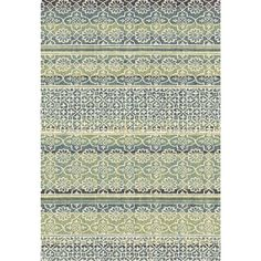 Eternity Striped Moroccan Rug (5.3' x 7.7')